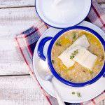 Zuppa di baccalà e cicerchie alla cilentana