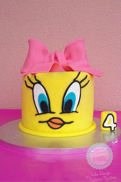 Bolo Piu Piu Tweety Cake  Doçuras da Patty