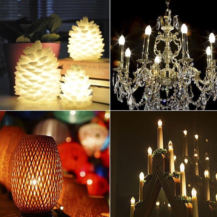 Night Light Bulbs Emotionlite C7 Candelabra LED Light