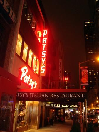Patsy's Italian Restaurant is one of the greatest attractions in New York City's theater district. Known as Frank Sinatra's favorite eatery this is an old school Italian restaurant that takes you back to dining out in the 60s. The spaghetti and meatballs is to die for, and for dessert, order the ricotta torte; it  was Frank's favorite!