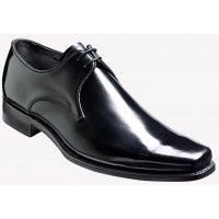 Barker Shoe Style: Bude - Black Hi Shine