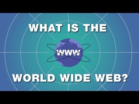 What in the world is the World Wide Web? (Hint: It's not the Internet)