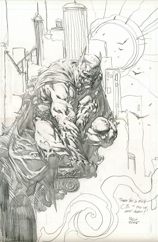 Batman by David Finch #davidfinch, #batman, #comics