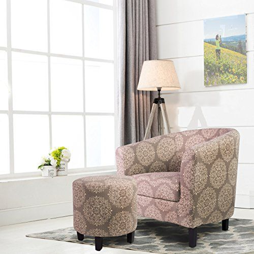 Home Decorators Collection | Ocean Bridge Barrel Chair and Ottoman Set Grey * Want additional info? Click on the image. Note:It is Affiliate Link to Amazon. #MyFavouriteHomeDecoratorsCollection