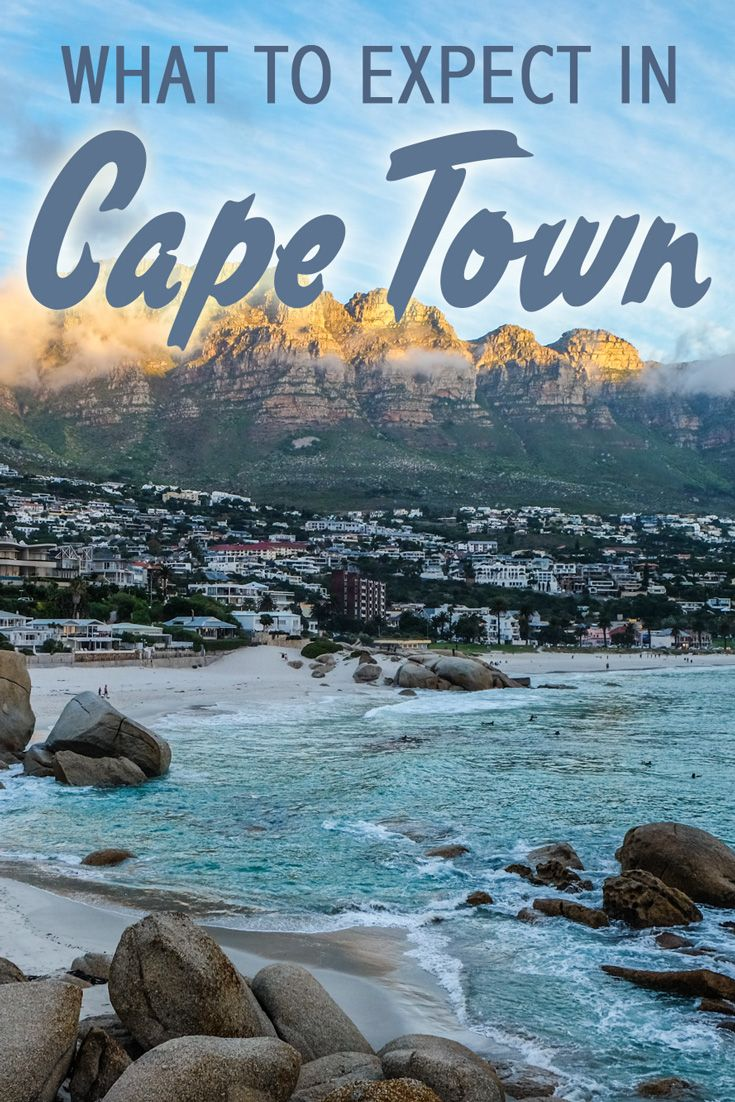 What to Expect in Cape Town: Cape Town is a cosmopolitan city with a wealth of historical sites, café culture, and lively nightlife.