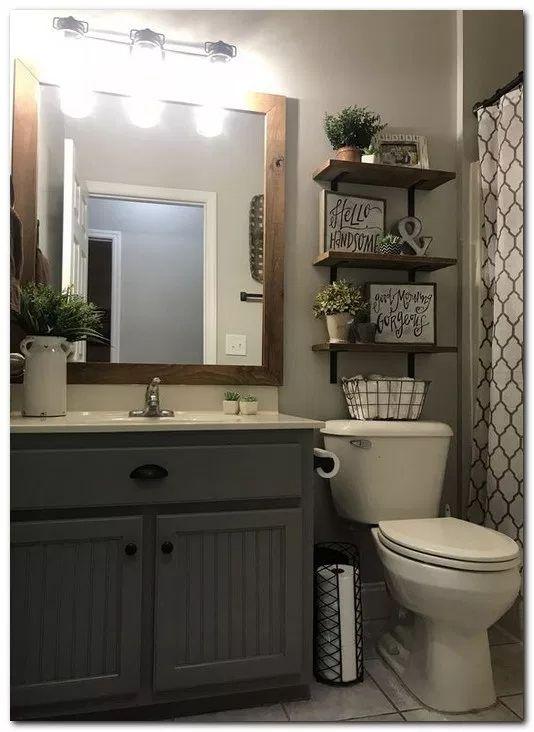 28 Best Rustic Farmhouse Bathroom Makeover Ideas