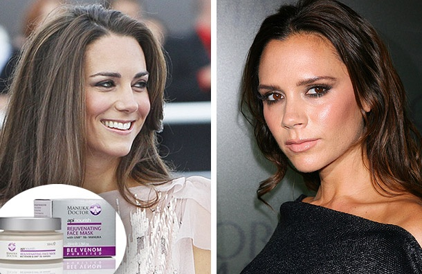 Kate Middleton and Victoria Beckham's 'Bee Venom' beauty secret  Manuka Doctor- rejuvenating face mask Bee Venom...
