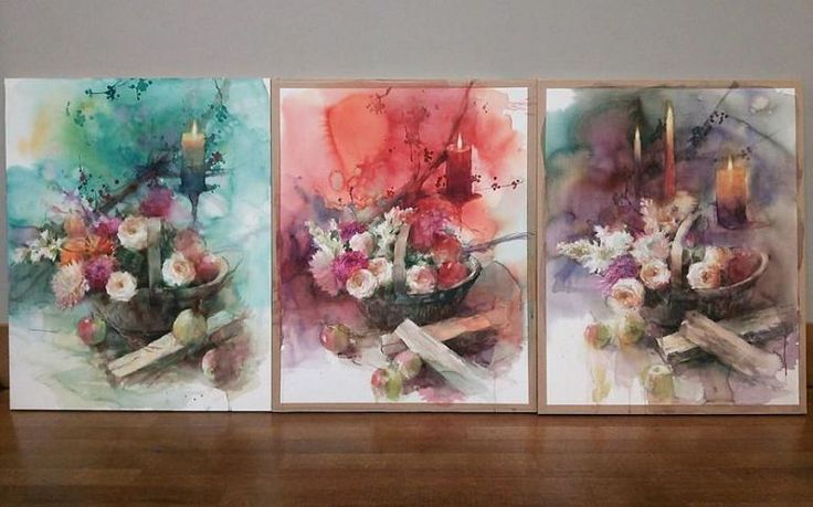 adelaparvu.com despre picturi acuarela, artist Yuko Nagayama (27)
