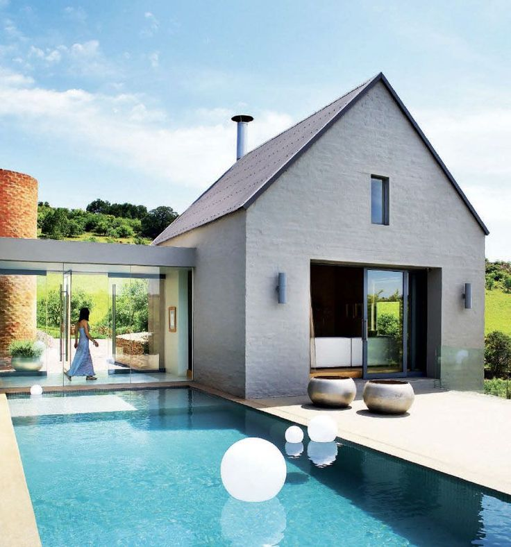 House Bezuidenhout   Formal Lounge Opens Onto The Pool Deck, Which Becomes  An Extension Of