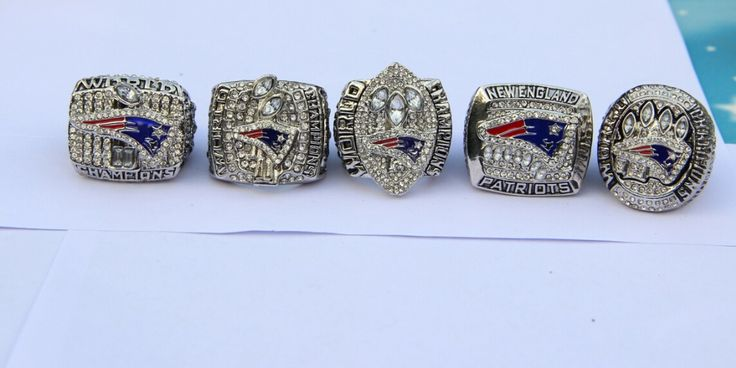high quality  2001 2003 2004  2011 2014 New England Patriots SUPER BOWL World Championship Ring BRADY MVP 5 together set #Affiliate