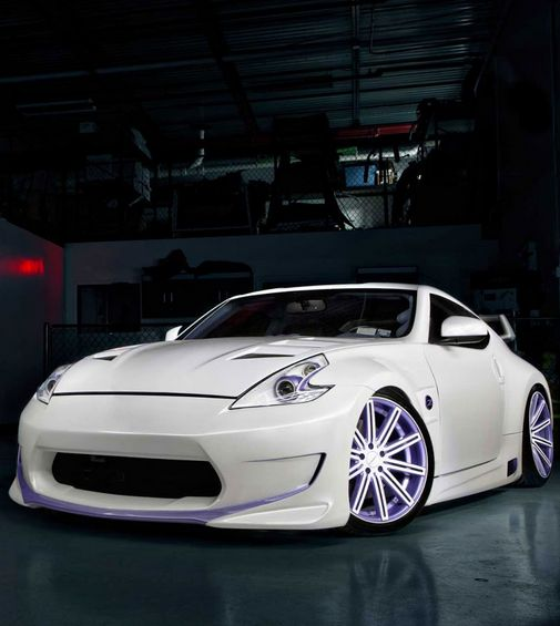 stunning 2013 nissan 370z with fierce vossen wheels love it click rh pinterest com