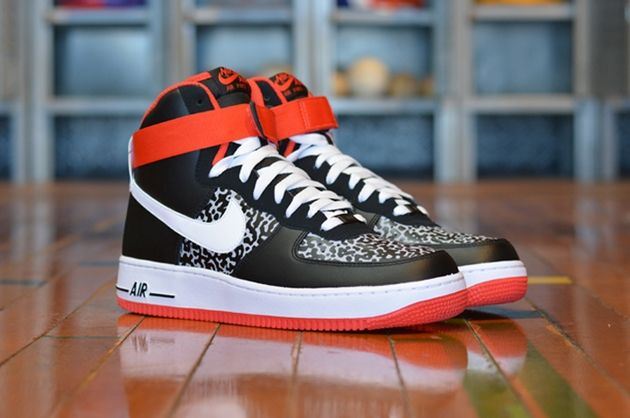 """Nike Air Force 1 High """"Poison Dart Frog"""""""