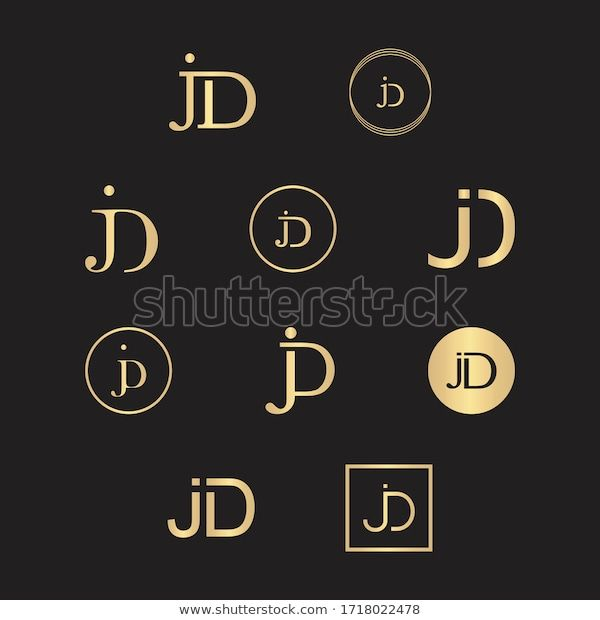 find luxurious jd letter initian monogram logo stock images in hd and millions of other royalty free stock photos illus in 2020 monogram logo letter logo design logos monogram logo letter logo design logos