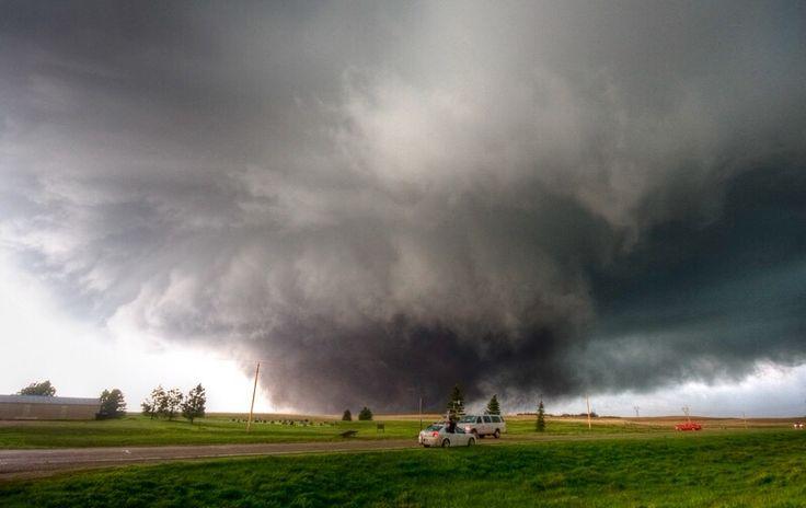 Destructive Ef4 Wedge Tornado Near Bowdle South Dakota