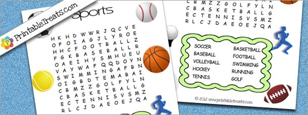 Soccer Word Search Puzzles \u2013 Best Cars 2018