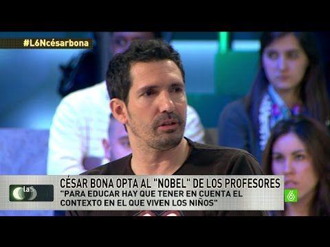 """Entrevista a César Bona: """"Con la ley Wert educamos en competitividad en lugar de tolerancia"""" - YouTube"""