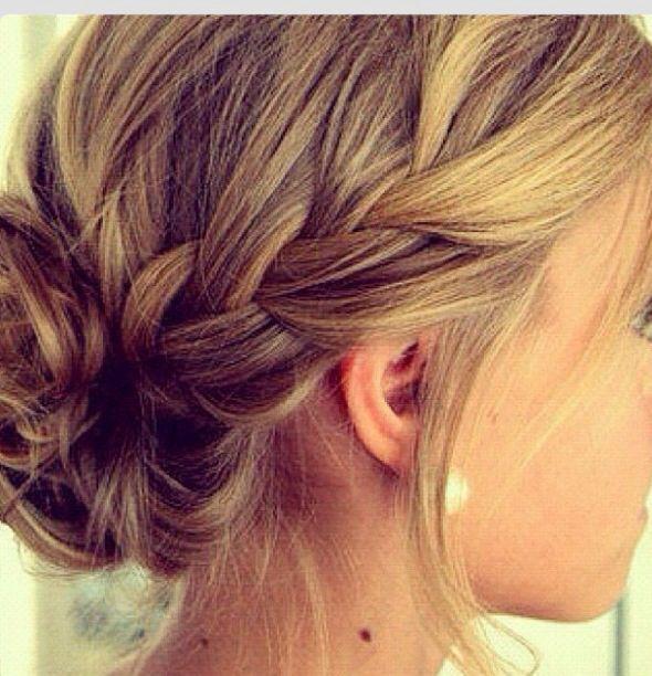 So möchte ich, dass meine Haare auch aussehen, wenn sie halten.