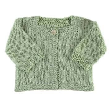 Cardigan bébé Victoire- modèle à tricoter en français - Tutoriels de tricot chez Makerist