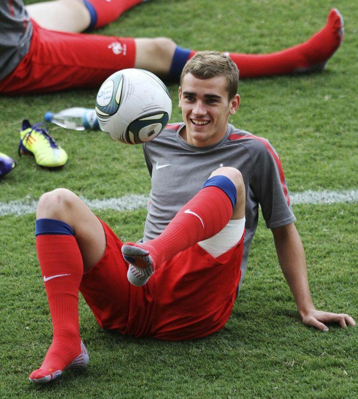 French footballer Antoine-Griezmann