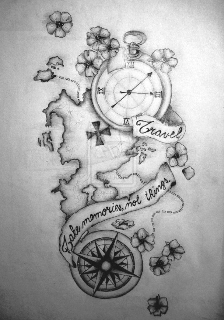 I like the compass and watch