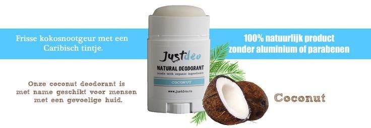 Natuurlijke deodorant, zonder aluminium of parabenen