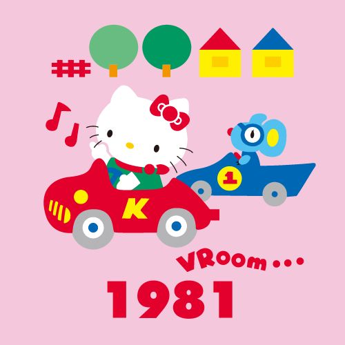 Hello kitty through the years 1981