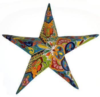Mexican Talavera Star