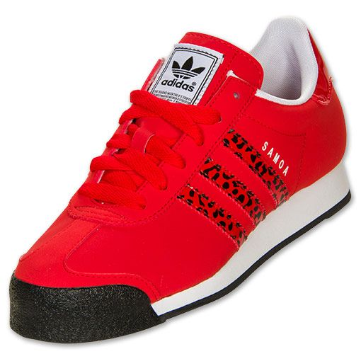 red white samoa adidas