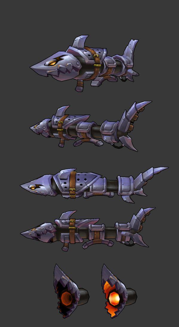 Fishbone weapon