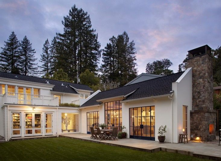 Love all the windows! Hardscaping 101: Asphalt Shingles | Gardenista