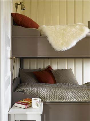 Lyst og lett, men koselig hyttepreg – Happy Homes Norge