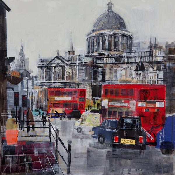 ST PAULS, LONDON,24X24