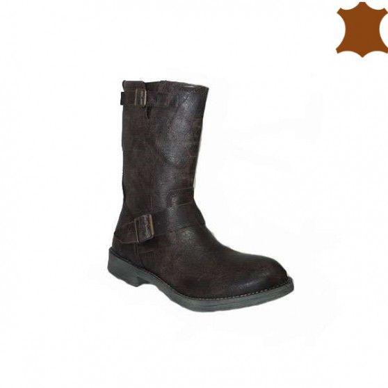 Tu calzado perfecto está en Primar Shoes. 27,99€   https://primarshoes.com/botas-mujer/5787-bota-plana-francia.html  #FelizMiercoles  #PrimarShoes