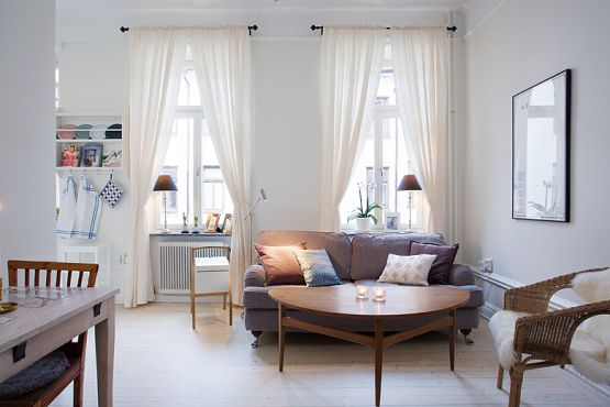 Decoracion De Living Peque?os ~ estilo n?rdico escandinavo decorar en balnco decoraci?n pisos