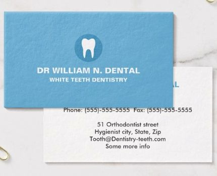 Dentist business cards akbaeenw dentist business cards colourmoves