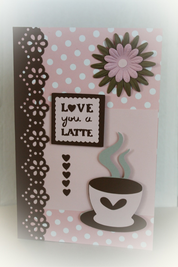 183 Best Cricut Tea And Coffee Cards Images On Pinterest Coffee