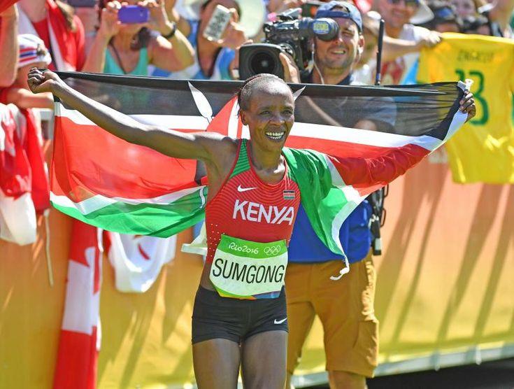 リオ五輪マラソン金のスムゴングが薬物陽性 #リオ五輪 #マラソン #オリンピック