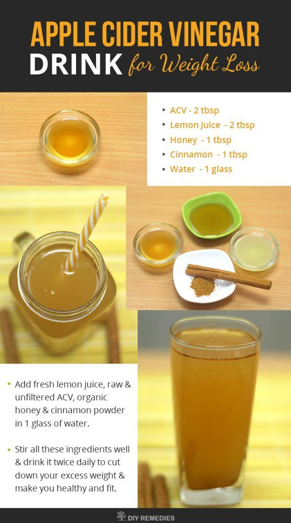 Apple cider vinegar how to drink it to lose weight