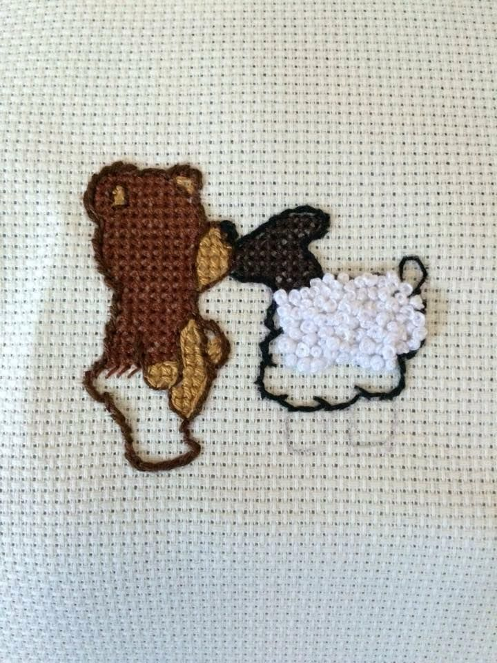 Work in progress by BobbieStitches. Check out www.facebook.com/BobbieStitches #needlework #cross #stitch #stitchery