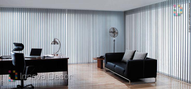 Persianas de Aluminio para oficinas, Persianas de madera para oficina, Persianas de PVC para negocios