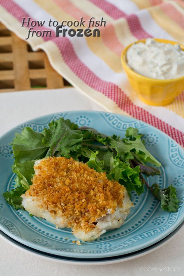 Cooking fish from frozen, not just for fish sticks anymore!
