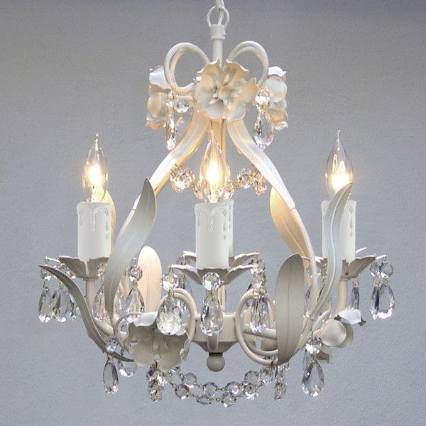 Crystal Mini Chandelier Elegant Home Decor Lighting Pendant Chandeliers Office Ceiling Light