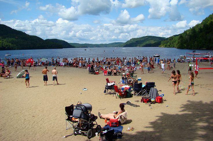Plage / Camping du Lac d'argile (Volleyball de plage)