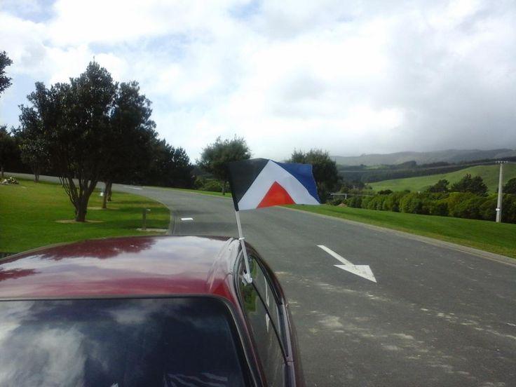 RedPeak car flag