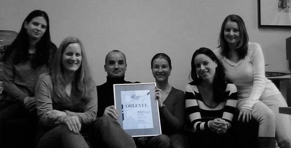 Sándor Imre PR-díjat 2013-ban hírnévmenedzsment kategóriában a PR csőre töltve című munkánkkal nyertük el.