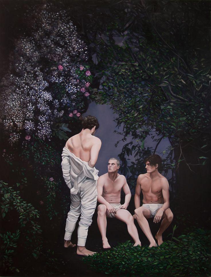 José Pedro Godoy 2012, Chile Tres hombres (Three men)