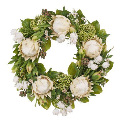 Protea Wreath