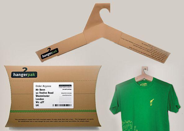 Hangerpak - 25 Cool T-shirt Packaging Design Examples