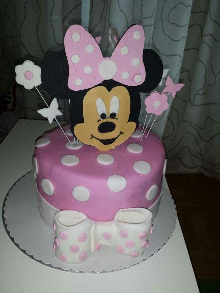 Minnie Maus Torte - Mini Mouse Cake