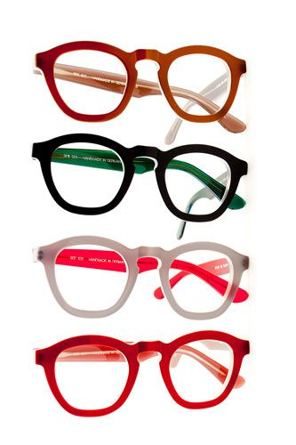 11 Super-Chic Glasses That'll Make You Want To Get Framed #refinery29  http://www.refinery29.com/49680#slide-5  SEE Eyewear 1211 Frames, $379, available at SEE, 1261 Wisconsin Avenue NW; 202-337-5988.